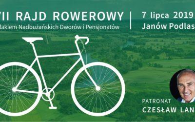 Rajd rowerowy szlakiem nadbużańskich dworów i pensjonatów 07.07.2019